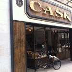 Cask - Artisanal Beverage Purveyors in downtown SF. Incredible selection. Bought a couple of bottles of Poli grappe there. The cargo bike out front was just a bonus.