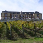 Domaine Carneros Winery - makers of one of my favorite Pinot Noirs and Champagne. Founded 25 years ago by Champagne Taittinger. The chateau is a 18th century building architecturally inspired by the Taittinger Château de la Marquetterie in Champagne.